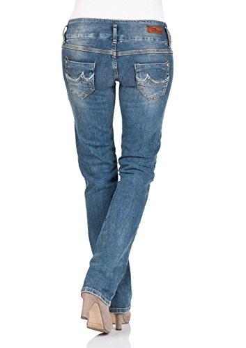 LTB Damen Straight Jeans Jonquil Jonquil Nuage Wash (5346-51069)