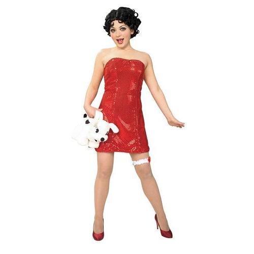 Betty Kostüm Teen - Rubie 's Costume Co Betty Boop Teen Kleid Und Perücke