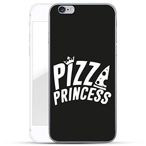 finoo   iPhone 6 und 6S Hard Case Handy-Hülle mit Motiv   dünne stoßfeste Schutz-Cover Tasche in Premium Qualität   Premium Case für Dein Smartphone  Pizza Princess
