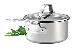 circulon casserole argent acier inoxydable silver 16 cm cuisine maison. Black Bedroom Furniture Sets. Home Design Ideas