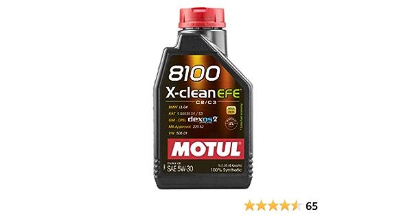 Motul 8100 X Clean Efe 5w30 1 Liter Flasche Auto