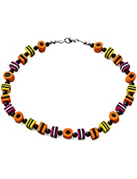 Liquorice Allsorts Fashion Costume 45 cm Beaded Necklace.