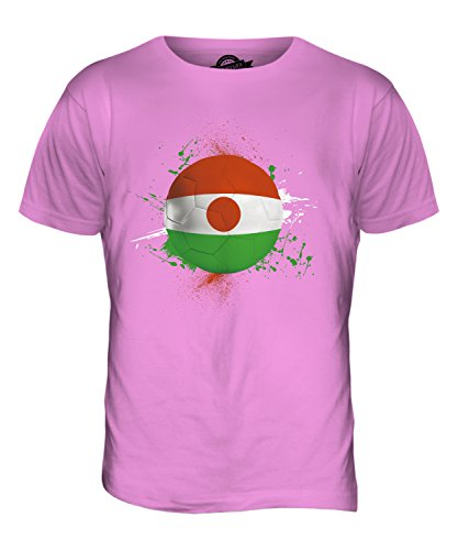CandyMix Niger Fußball Herren T Shirt Rosa