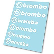 GraphicFX Brembo Logo Hi Temp - Calibrador de freno