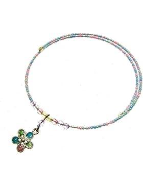 Kleine fashion-Halskette Halsband-Anhänger in Tropfenform, ideal für kleine Mädchen - 114178 für