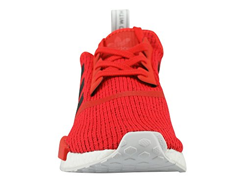 adidas NMD_r1, Chaussure de Sport Homme Rouge