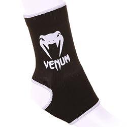 Venum Erwachsene Gelenk Kontact Schutz, Schwarz/Weiß, One Size