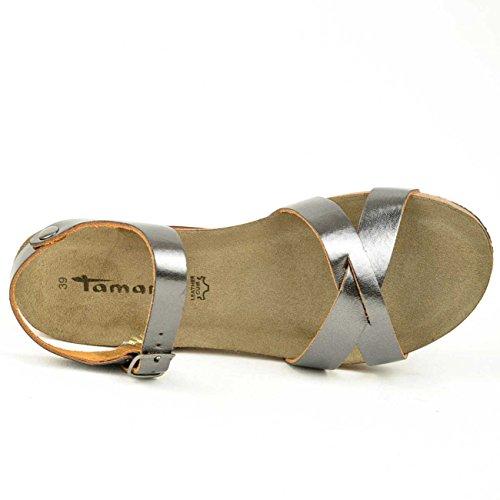 Tamaris1-1-28219-34-957 - Scarpe con plateau Donna Marrone (bronzo)
