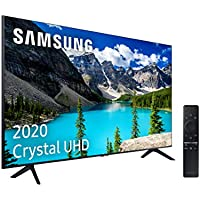 "Samsung Crystal UHD 2020 55TU8005 - Smart TV de 55"" con Resolución 4K, HDR 10+, Crystal Display, Procesador 4K, PurColor, Sonido Inteligente, One Remote Control y Asistentes de Voz Integrados"