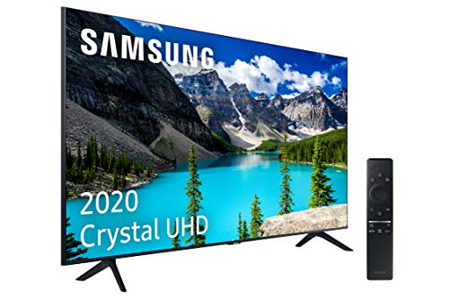 """Oferta de Samsung UHD 2020 50TU8005 - Smart TV de 50"""" 4K, HDR 10+, Crystal Display, Procesador 4K, PurColor, Sonido Inteligente, One Remote Control y Asistentes de Voz Integrados, con Alexa integrada"""