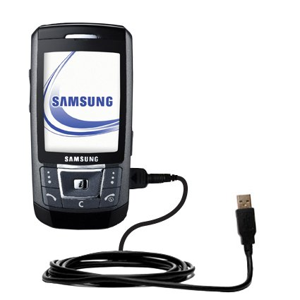 Das Hot-Sync Straight USB-Datenkabel für Samsung SGH-D870 mit Lade-Funktion mit TipExchange kompatiblen Kabel