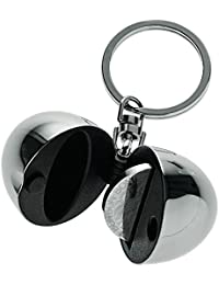 Alessi Fa07 Bon Bon Porte-clés/porte-jeton en Acier Inoxydable 18/10 Brillant et Résine Thermoplastique