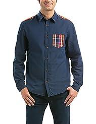 Desigual CAM_JORGE-Camisa Hombre,