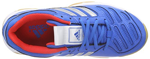adidasBT Boom - Scarpe Sportive Indoor Unisex – Adulto Blu (Blau (PRIBLU/METSIL/HIRERE))