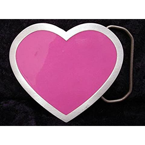 Con il cuore fibbia, fibbia della cintura a forma di cuore, per girlies