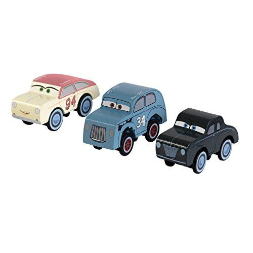 KidKraft 17215 circuito de juguete Pack de Disney Pixar Cars 3 Autódromo Thomasville de madera 3