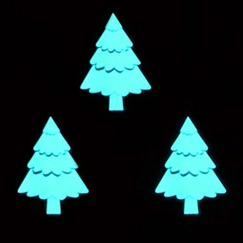 Glowing Christmas Jumper Kit - Electroluminescent Tree Set - 3 EL panels + Adjustable, Sequencer Driver Christmas Tree Jumper