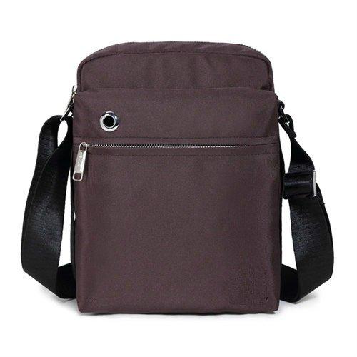 oxford material männer tasche wasserdicht umhängetasche lässige männer reisetasche kleine crossbody tasche kaffee