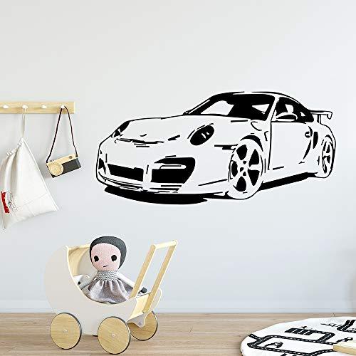 Auto Wandaufkleber Selbstklebende Vinyl Wasserdichte Wandkunst Aufkleber Kinderzimmer Dekor Dekoration Zubehör a3 57x121 (Tinkerbell Auto Zubehör)