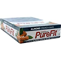Pure Fit Nutrition Bar, Almond Crunch, 15 Bars by