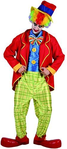 Generique - Lustiges Clown Kostüm für Herren bunt M