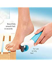 a2zmobi Pedicure Scrubber, Dead Skin and Callus Remover Pedi Perfect Electronic Dry Foot File, Callous Remover for Feet - Regular Coarse, For in home pedicure foot care spa (Wet and Dry)