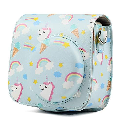 Tasche Kompatibel Mit Instax Mini 9 / Mini 8 Sofortbildkamera Tasche Mit Schulterriemen Schutztasche 13,5 X 6,5 X 13,4 Cm Für Mini Kamera