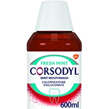 Corsodyl Gum Problem Treatment Mouthwash, 600 ml, Mint