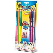 Carioca - Blister con 6 lápices y sacapuntas (A52671006)