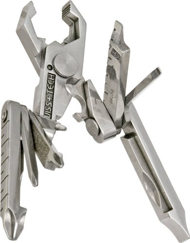 swiss-tech-st53100-polished-ss-19-in-1-micro-pocket-multitool-for-camping-outdoors-hardware