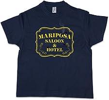 Urban Backwoods Mariposa Saloon & Hotel Niños Chicos Kids T-Shirt