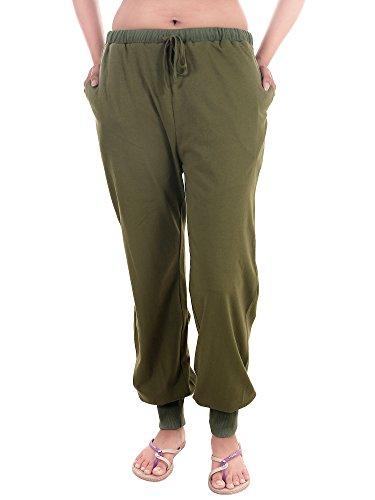 9teenAGAIN Women's Hosiery Night Pajama (Green, Large)