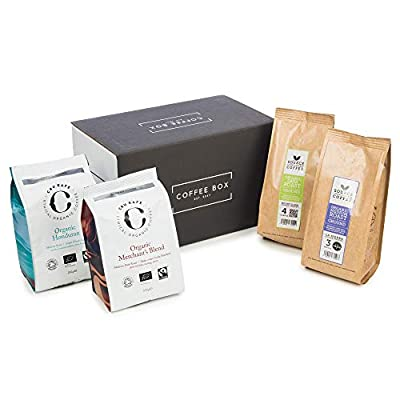 Ground Coffee Gift for Coffee Lovers - 4X 227g/250g Bags from Discover Coffee