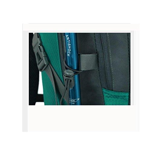 50L40L60L Pacchetto di campeggio impermeabile dello zaino del sacchetto di arrampicata di navy blue