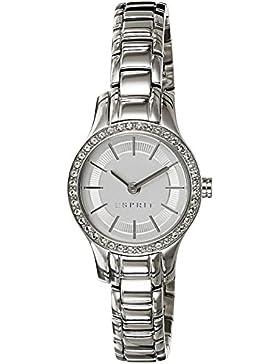 Esprit Damen-Armbanduhr XS Analog Quarz Edelstahl ES107092001
