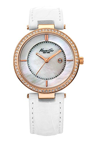 kenneth-cole-womens-quartz-watch-classic-kc2676-with-leather-strap