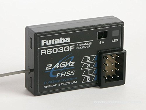 FUTABA R 603GF 2,4 GHz FHSS Empfänger (Fhss Empfänger)