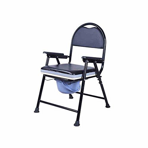 Toilettenstuhl Töpfchen Stuhl  Zusammenklappbar  Schwangere Frau  Bewegen Sie Verdickte Toilettensitz Stuhl  Stuhl Von Mittlerem Alter Ältere Toilettensitz Zusammenklappbares Bettpfanne