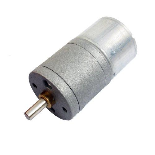 Sourcingmap a12073100ux0295 - La sustitución del eje 4 mm 3v dc dia 20 rpm motor eléctrico orientado 0.45a 25 ga