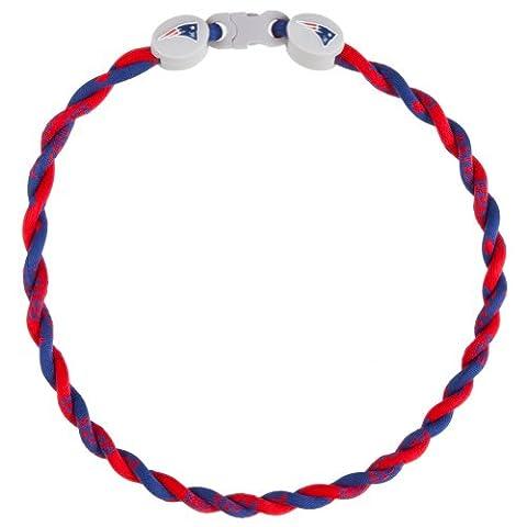 New England Patriots - LogoTitanium Twist Necklace