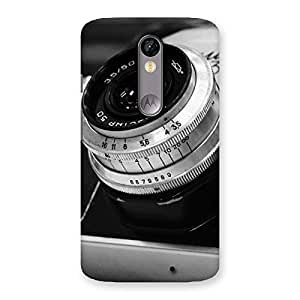 NEO WORLD Remarkable BW Camera Up Back Case Cover for Moto X Force
