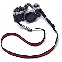 Zhuhaitf Accesorios para la cámara Nylon Cotton Ribbon Shoulder Straps Camera Micro Single Shot Up Belts Rope Military Gifts for Photography
