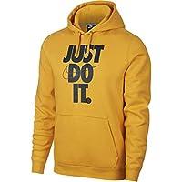 new product 2e22e aa794 Nike JDI HBR Forro Polar con Capucha, Hombre, 928717-752, Yellow Ochre