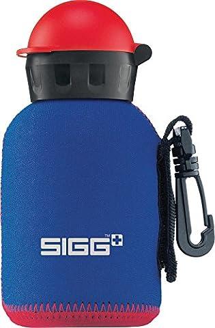 Sigg - Housse néoprène pour gourde 0,3 L Bleu/rouge