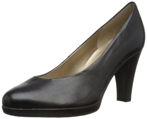 Gabor Soria L, Women's Court Shoes, Black, 3.5 UK