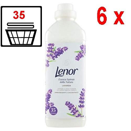 6er Pack - Lenor Weichspüler - Lavendel - 35 Wäschen - 875 ml -