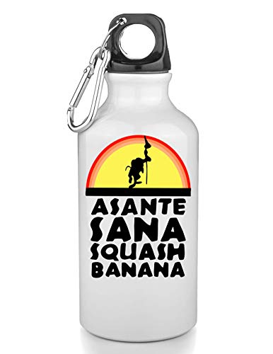 PasTomka Asante Sana Squash Banana Rafiki Freie Trinkflasche Wasserflasche Sport Camping Tourist Water Bottle