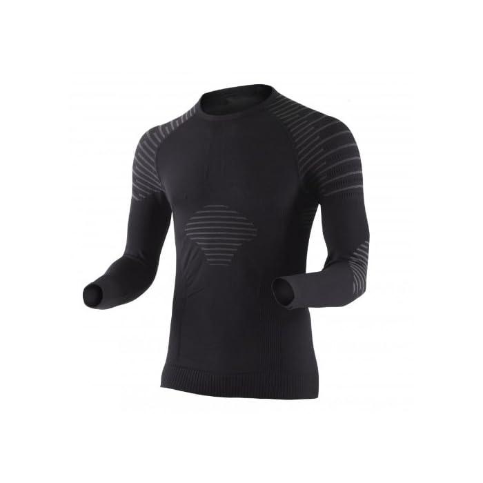 X-Bionic Erwachsene Funktionsbekleidung Man Invent UW Shirt LG SL