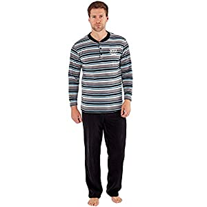 Harvey James – Pijama – Manga Larga – para Hombre