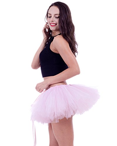 URVIP Damen's Retro Rockabilly Swing Petticoat Ballett Tutu -